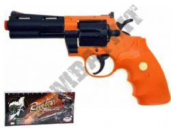 UA937 Revolver Airsoft BB Gun Black and Orange